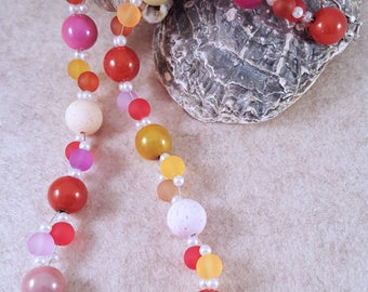 Great necklace of Polaris and Miraclebead beads