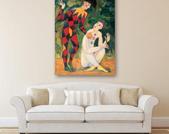 Original oil painting, Giclee Print on Canvas,Large wall art canvas, Modern Art Painting, Painting on Canvas, Original Art, Wall art