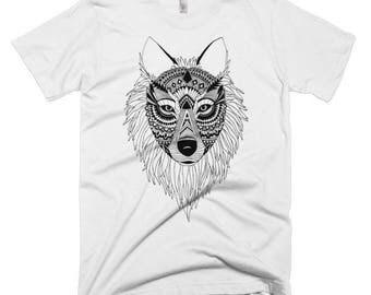 Wolf Short Sleeve Men's T-shirt