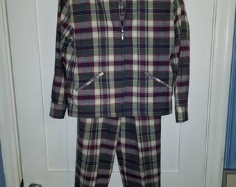 Plaid Brooks Brothers 2-piece set