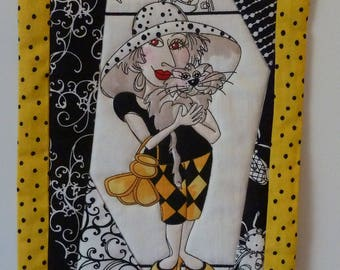 Quilted Wall Hanging - Bee Happy!