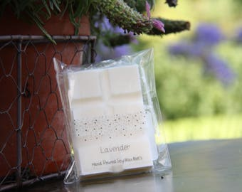 Lavender Scented Hand Poured Soy Wax Melt for oil burners, wax warmers