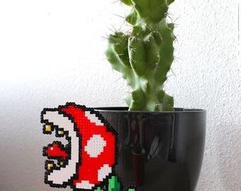 Pot - plant decoration Mario-carnivore