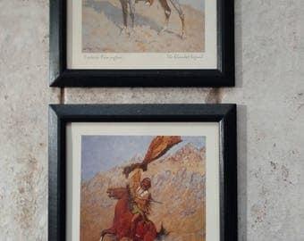 Pair of Frederic Remington Prints