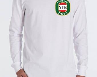 Yeah the Boys YTB funny longsleeve AS COLOUR cotton tshirt