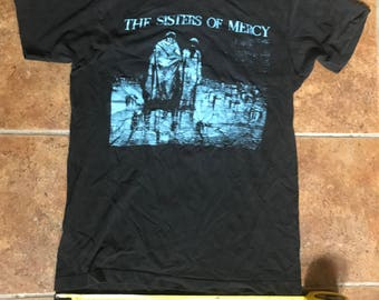 Sisters Of Mercy Body And Soul ORIGINAL Vintage t-shirt GothRock Band tee