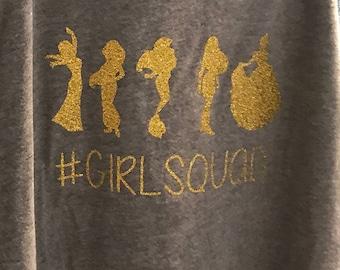 Princess Girl Squad Iron On