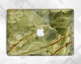 Green Marble Macbook 12 Macbook Air 11 Macbook Pro Laptop Case Macbook Hard Case Macbook Air Marble Macbook Air 13 Macbook Pro Retina