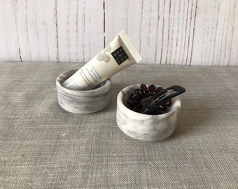 Small Marble Storage Bowl