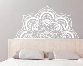 Mandala Wall Decal Etsy - Yoga studio wall decals