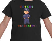 Policeman Shirt, Birthday...