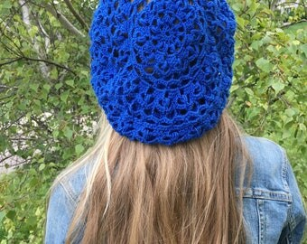 Pretty knitted hat