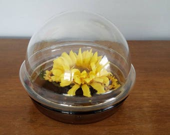 1970s Corning Terrarium, Dome Terrarium, PH 7 S, Hard to Find