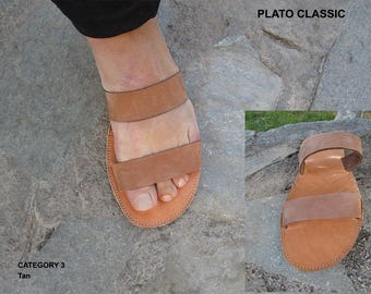 Men's Sandals, Handmade Sandals, Leather Sandals,Sandals for men, Greek Sandals,Mens Leather Sandals,Roman Sandals, PLATO CLASSIC