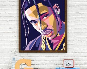 Travis Scott Limited Artwork