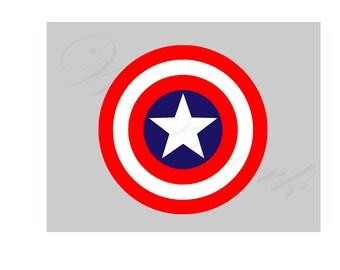 America SVG and Studio 3 Cut File Cutouts Files Captain Logo Stencil for Silhouette Cricut SVGS Cutouts Stencils Decals Decal Logos Comic
