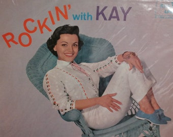 Vintage 1958 Rockin' with Kay Starr Vinyl LP Rockabilly Classic Record- Rock and Roll 1950s Country Western