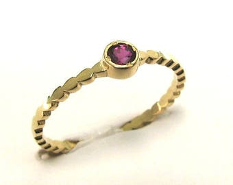 Ruby wedding ring etsy ruby engagement ring solitaire engagement ring gold engagement ring ruby jewelry ruby junglespirit Image collections