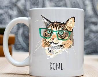 Fun Cat Owner Gift, Cat Owner Mug, Funny Cat Mug, Cat Mom Gift, Cat Mom Mug, Cat Lover Mug, Cat Coffee Mug, Cat Lover Gift, Gift for Cat Mom