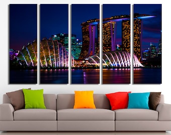 Singapore Art, Singapore Canvas, Canvas art, Singapore poster, Singapore print, Singapore photo, Singapore home decor, Singapore decor