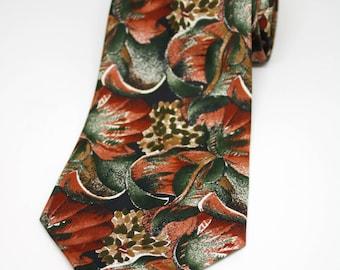 Massimo Dutti Ties/Vintage Ties/Gentleman's Ties/Fashion Ties/Silk Neckties/Men Gifts/Gents Gifts/Classy gifts/Budget ties/Floral Print