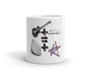 Rock + Star Mug