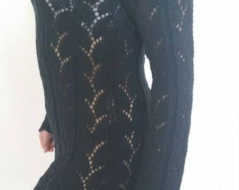 short knit dress