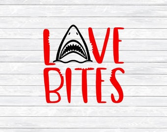 Love Bites, Valentine Svg, Boy Valentine Svg, Valentines Day, Svg, Dxf, Png, Svg Shirt File, Cut files, Svg files, Silhouette, Cricut, Cute