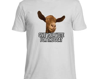 Funny Goat Candidate For President