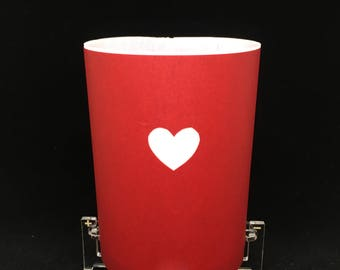 Heart Valentine's Tabletop LED Lantern Kit