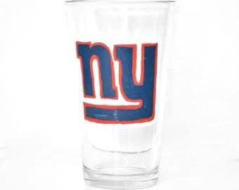 NY Giants Beer Glass