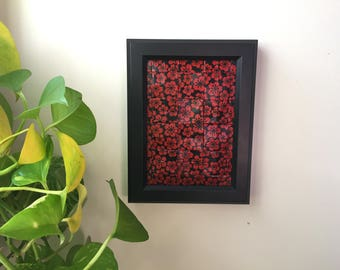 Red Flowers - Origami Tessellation