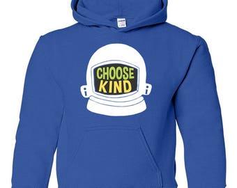 Choose Kind Kids' Hoodie - Helmet
