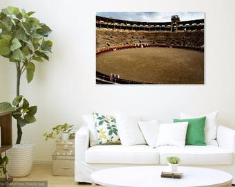 "Barcelona Bull Ring Wall Print: ""Meet Me in The Ring"""