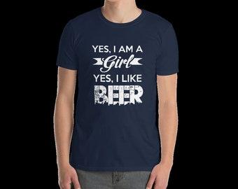 Beer t-shirt, Beer lover tshirt, Craft Beer tshirt, Beer shirt, Mens t shirt, Beer lover gift, Gift for husband, Gift for him, Funny t shirt