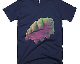 Cute Tardigrade Electron Microscope Weird T-Shirt - Tardigrade T-Shirt - Geek T-Shirt Nerd T-Shirt - Science T-Shirt - Water Bear T-Shirt