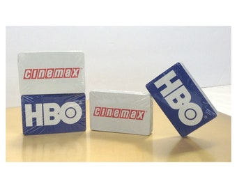 HBO/Cinemax Playing Cards (2 Sets of Cards)