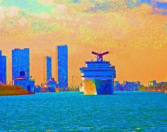 Cruising Miami