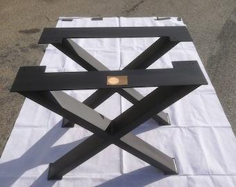 Pied de table industriel etsy - Pied de table metallique ...