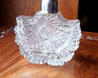 Art Deco Vintage perfume glass bottle