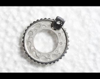 Motorcycle Crown Pendant