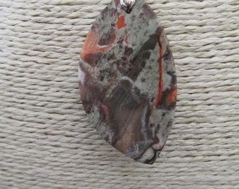 Spiderweb Jasper Pendant