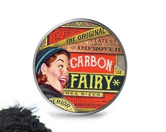 Carboncoco Teeth Whitening Powder Charcoal Toothpaste * Vintage style *