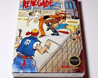 RENEGADE - NES (Nintendo) New!! Factory Sealed w/ H-Seam - >>MINT<<