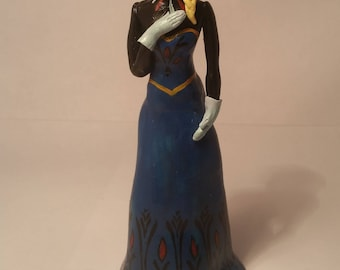 Figurine Elza Frozen Disney great gift for girl present for daughter Christmas gift exclusive figurine of Elza in original dress of princess