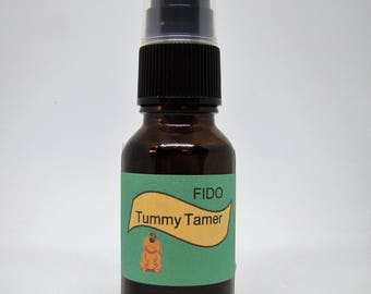 "Dog Sir Dudley's Fido ""Tummy Tamer"" with All Natural Essential Oils for Upset Tummies"