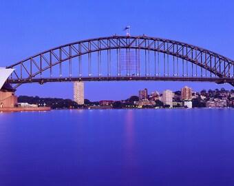 Sydney Harbour on Dusk Panoramic