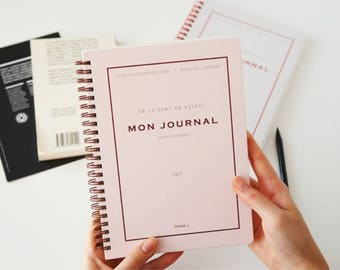 Mon journal / diary / note / line note / scheduler / calendar / 2018 diary / planner / monthly planner / weekly planner