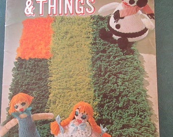 Crochet American Thread star book # 232 Novelties & Things