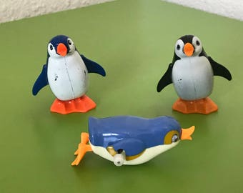 TOMY wind up penguins